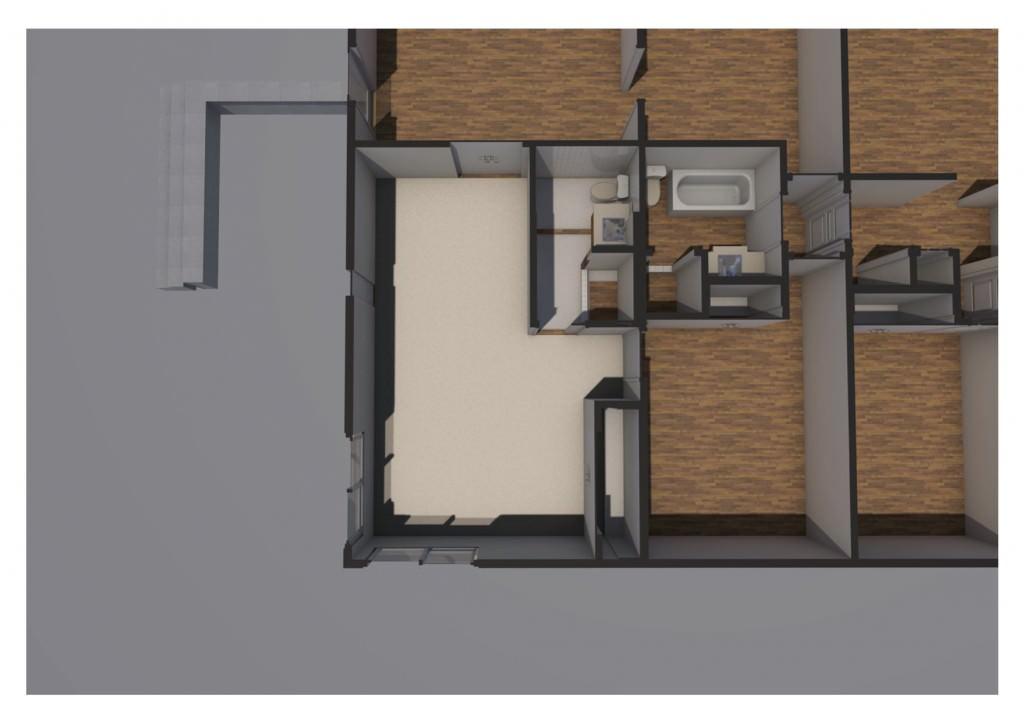 Existing Master Suite Plan