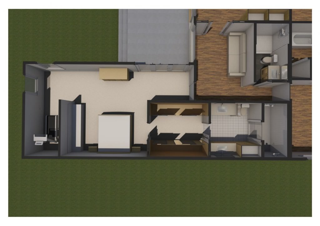 Proposed Master Suite Plan